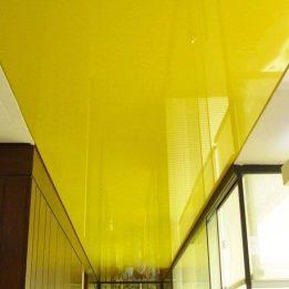 глянцевый желтый