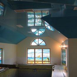 потолок на мансарде