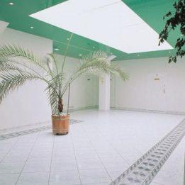 полупрозрачный потолок