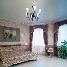 одноуровневый в спальне