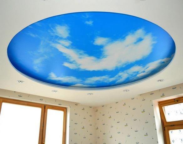 потолок небеса